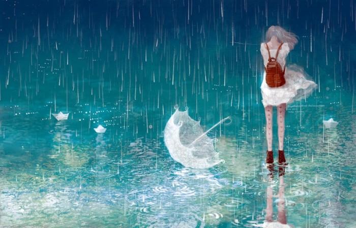 Đi qua những ngày mưa