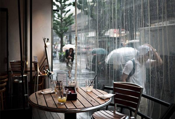 Thành phố những ngày mưa…