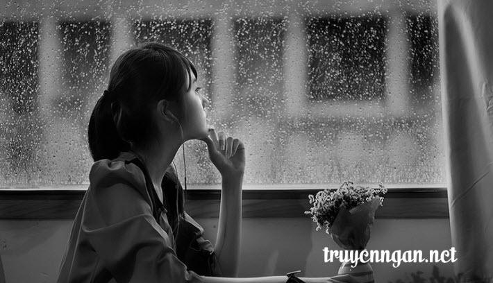 Truyện Ngắn Cơn mưa chiều bên khung cửa sổ